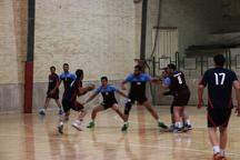 لیگ دسته یک هندبال کشور تیم شهرکرد نیامد بازی برگزار نشد
