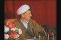 مصاحبه مطبوعاتی هاشمی رفسنجانی همزمان با شلیک دو موشک روی تهران