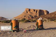 بیش از ۱۰ تن زباله از ساحل «کاظمداشی» دریاچه ارومیه جمعآوری شد
