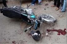 مرگ 24 موتور سوار در سه ماهه اول  سال جاری