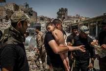 زخمی که داعش بر اندام نحیف کودکان عراقی زد