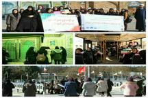 تور گردشگری مسیر انقلاب در قزوین برگزار شد