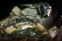 سقوط اتوبوس به دره در جاده یاسوج - اصفهان 2 کشته و 9 مصدوم بر جای گذاشت