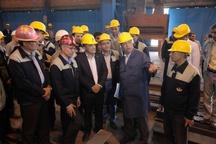تحویل اولین محموله ریل ملی ذوب آهن اصفهان به راه آهن جمهوری اسلامی