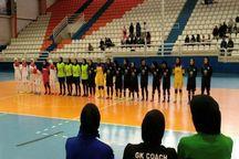 بانوان فوتسالیست خراسان رضوی بر تیم شیراز غلبه کردند
