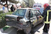 واژگونی خودرو پراید در جاده فریمان هشت مصدوم داشت