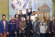 قزوین نایب قهرمان مسابقات تکواندو کارگران کشور شد