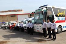 320 نیروی اورژانس استان اردبیل برای طرح سلامت نوروزی سازماندهی شد