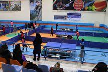 تور پینگ پنگ بانوان کشور در مشهد آغاز شد