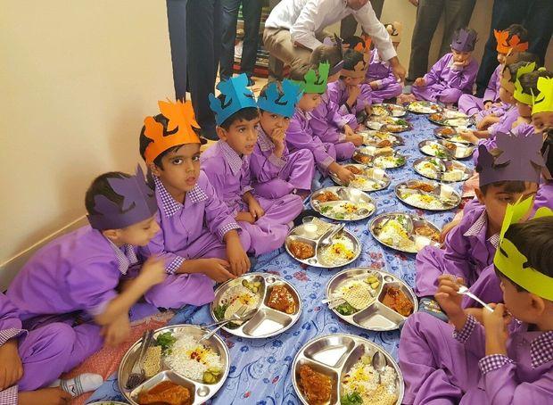 توزیع یک وعده غذای گرم در مهدهای کودک خراسان رضوی آغاز شد