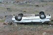 واژگونی خودرو درمحورآبسرده - بروجرد یک کشته وچهارمجروح برجای گذاشت