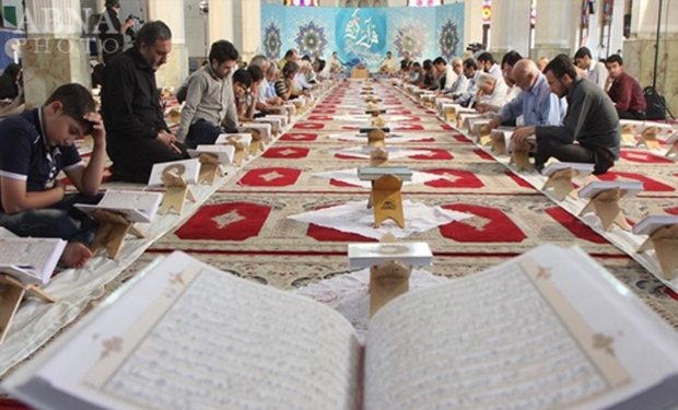 آیین جزء خوانی قرآن در مساجد مهریز آغاز شد
