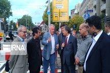 شهرداری درسدن آلمان در احداث تراموای شیراز همکاری میکند