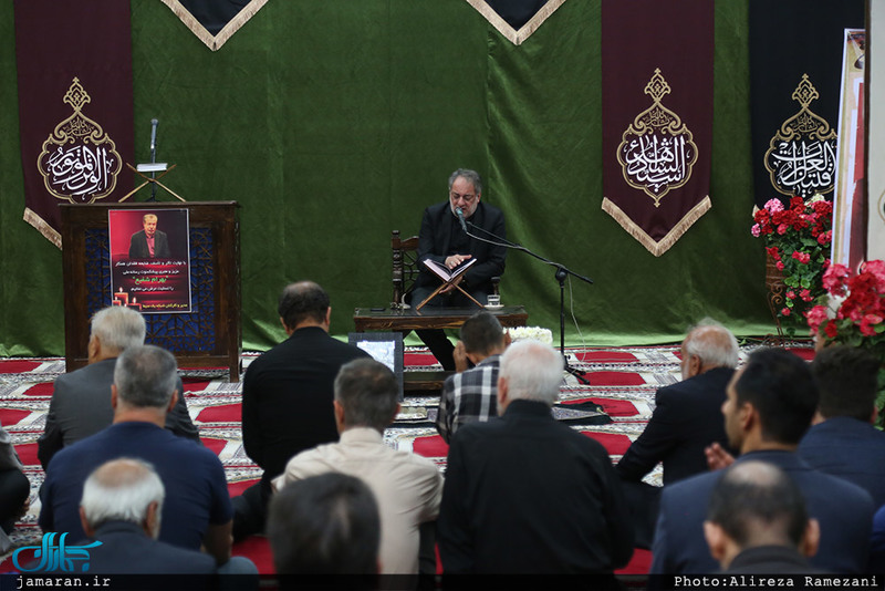 مراسم بزرگداشت مرحوم بهرام شفیع