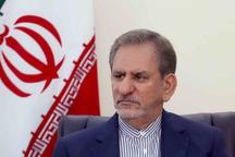 معاون اول رئیس جمهوری وارد استان سمنان شد