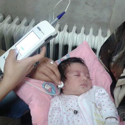 100درصد نوزادان  اردبیل شنوایی سنجی شدند