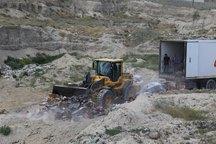 معدوم سازی 201 تن خرمای تولید اسرائیل در مرز بازرگان