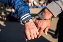 سارق احشام در باشت دستگیر شد