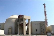 ۶.۵ میلیارد کیلووات برق ساعت در نیروگاه اتمی بوشهر تولید شد