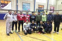 یک برد و باخت حاصل رویارویی گلبالیست های همدانی با تیم ملی جوانان