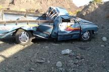 واژگونی خودروی وانت در جاده آبسرده 2 کشته و 6 مصدوم داشت