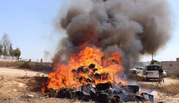 یکهزار کیلوگرم ماده مخدر در تبریز امحاء شد
