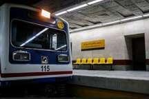 مرد جوان با تجاوز به حریم ریلی در ایستگاه مترو تئاتر شهر جان خود را دست داد