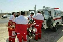 ۱۷ مورد عملیات امداد و نجات هلال احمر البرز