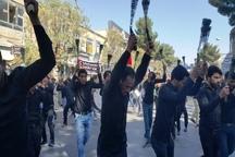 حضور پرشور مردم تربت حیدریه در عزاداری روز تاسوعای حسینی