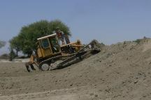 310 هزار متر مکعب بندسار کشاورزی چابهار احیا و مرمت شد