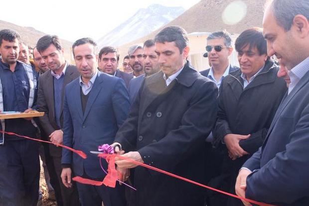 سیلو ذخیره گندم شهرستان شازند بهره برداری شد