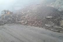وقوع 10 مورد ریزش کوه در جاده های ارتباطی استان کردستان