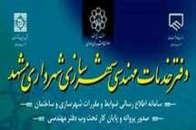 ساماندهی و مدیریت دفاتر پیشخوان شهرسازی در مشهد تصویب شد
