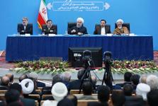 رئیسجمهور روحانی: ملت راه درست را تشخیص داده و آن را ادامه میدهد/همه هزینهها بر مبنا و چارچوب قانونی کشور است/ سالانه 900 هزار میلیارد تومان یارانه از سوی دولت در بخشهای مختلف پرداخت میشود