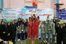 ژیمناست های دختر تهران بر سکوی نخست مسابقات کشوری ایستادند