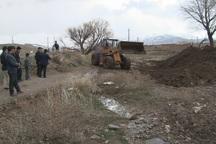 5 کیلومتر از رودخانه های پرخطر هریس لایروبی شد