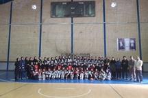 قهرمانی تیم دختران سپاهان در مسابقات هندبال دختران ایران