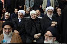 تشکر محمد هاشمی از حضور مردم و مسئولین در مراسم چهلم آیت الله هاشمی: مردم سنگ تمام گذاشتند