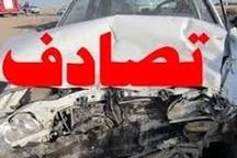 حادثه رانندگی با یک کشته و 9 مصدوم در محور هراز آمل