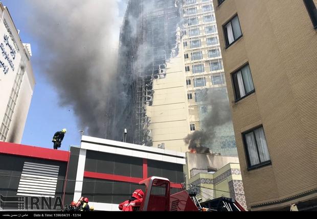 آتش سوزی گسترده در مشهد + تصاویر