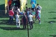 مرگ عجیب فوتبالیست الجزایری در جریان مسابقه + عکس