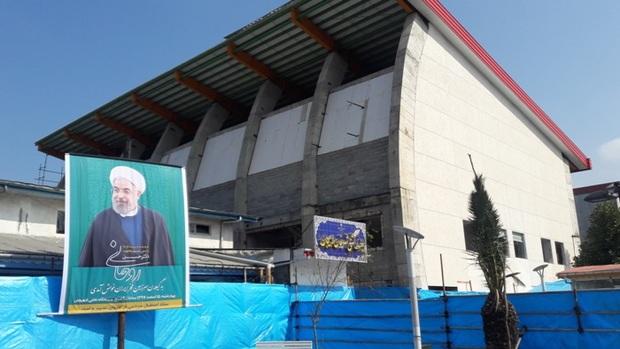 اختصاص 50 میلیارد ریال برای تکمیل سالن ورزشی طبقاتی لاهیجان