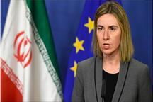 موگرینی: مانور نظامی مشترک ایران و روسیه موجب نگرانی است
