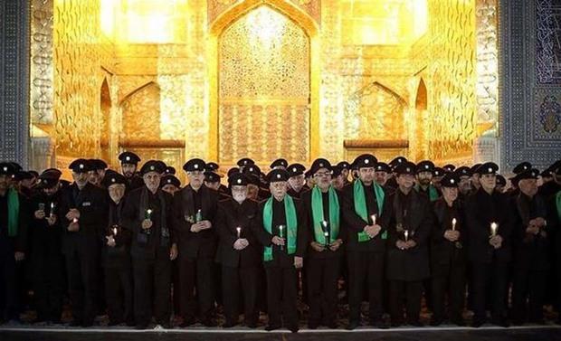 خطبه خوانی شب شهادت حضرت امام رضا (ع) در مشهد برگزار شد