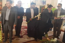 معاون رئیس جمهوری به مقام شامخ شهیدان یاسوج ادای احترام کرد