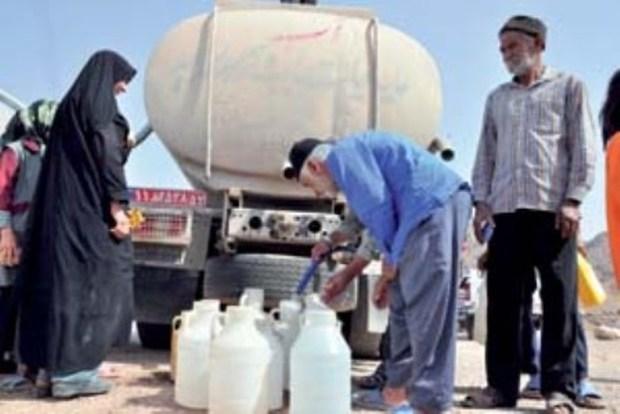 چهار روستای خمین با تانکر آبرسانی می شود