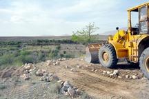 361 هزار مترمربع اراضی دولتی در کردستان رفع تصرف شد