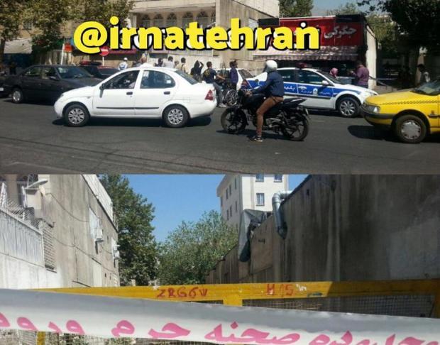 کشف جسد زنی 45 ساله در کانال آب خیابان خواجه عبدالله تهران