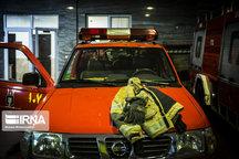 امدادرسانی آتش نشانان به دو مورد حریق در رشت