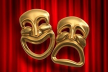 اجرای نمایش نهنگ قنبر  در مجتمع 22 بهمن تبریز   نهرین : کم مانده تئاتر شهر سرمان خراب شود